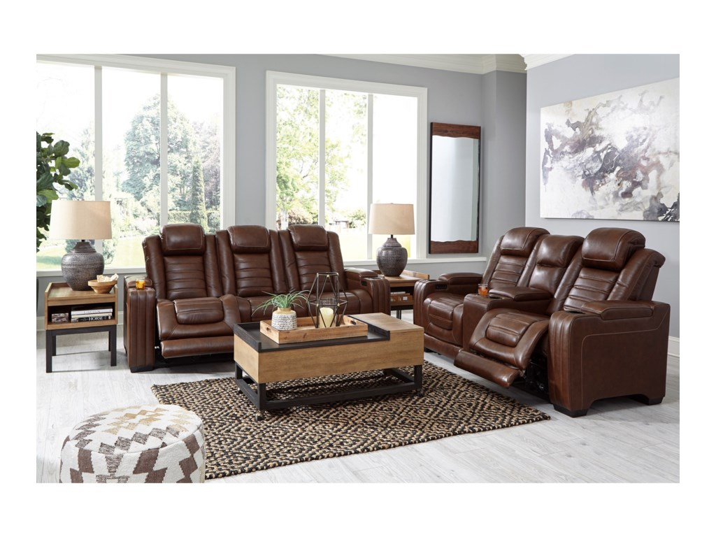 Signature Design by Ashley BacktrackReclining Living Room Group