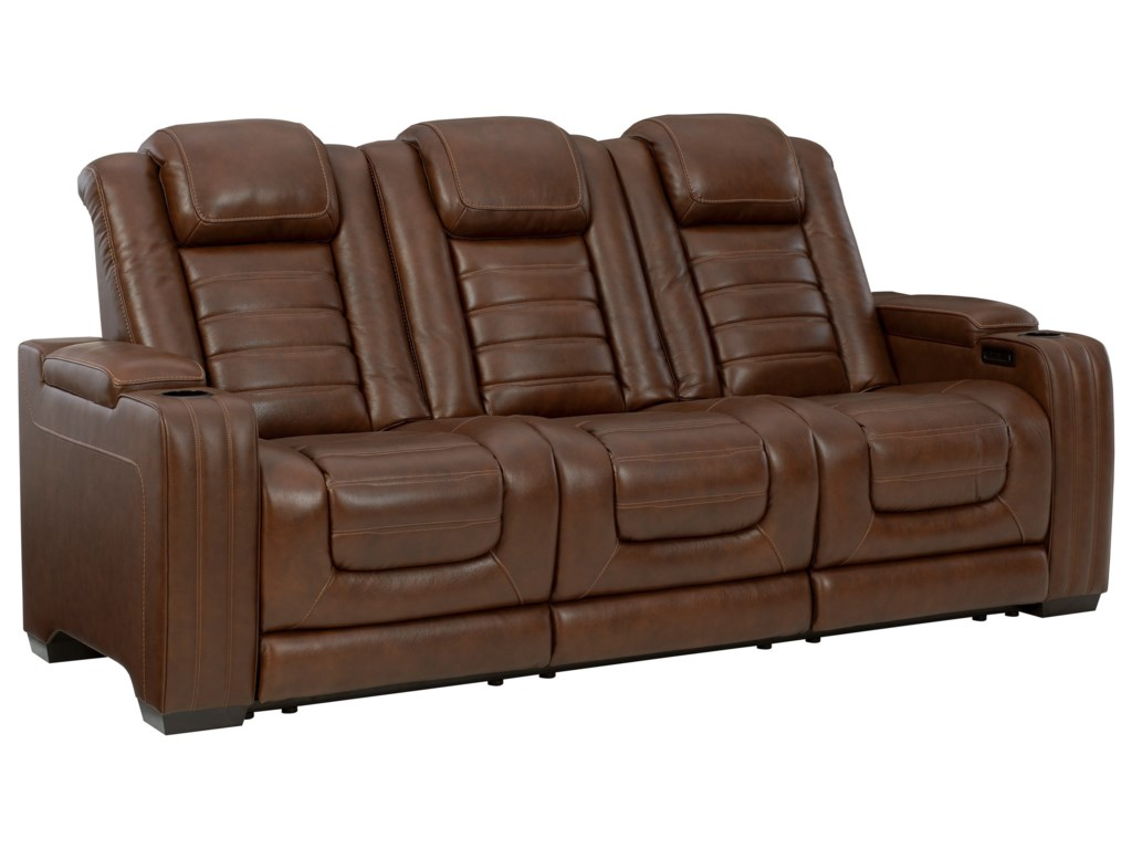 Signature Design by Ashley BacktrackPower Reclining Sofa