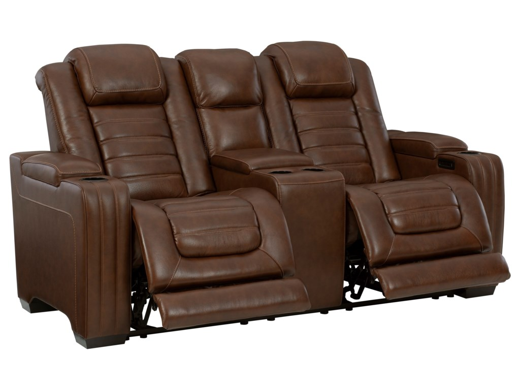 Signature Design by Ashley BacktrackPower Reclining Loveseat