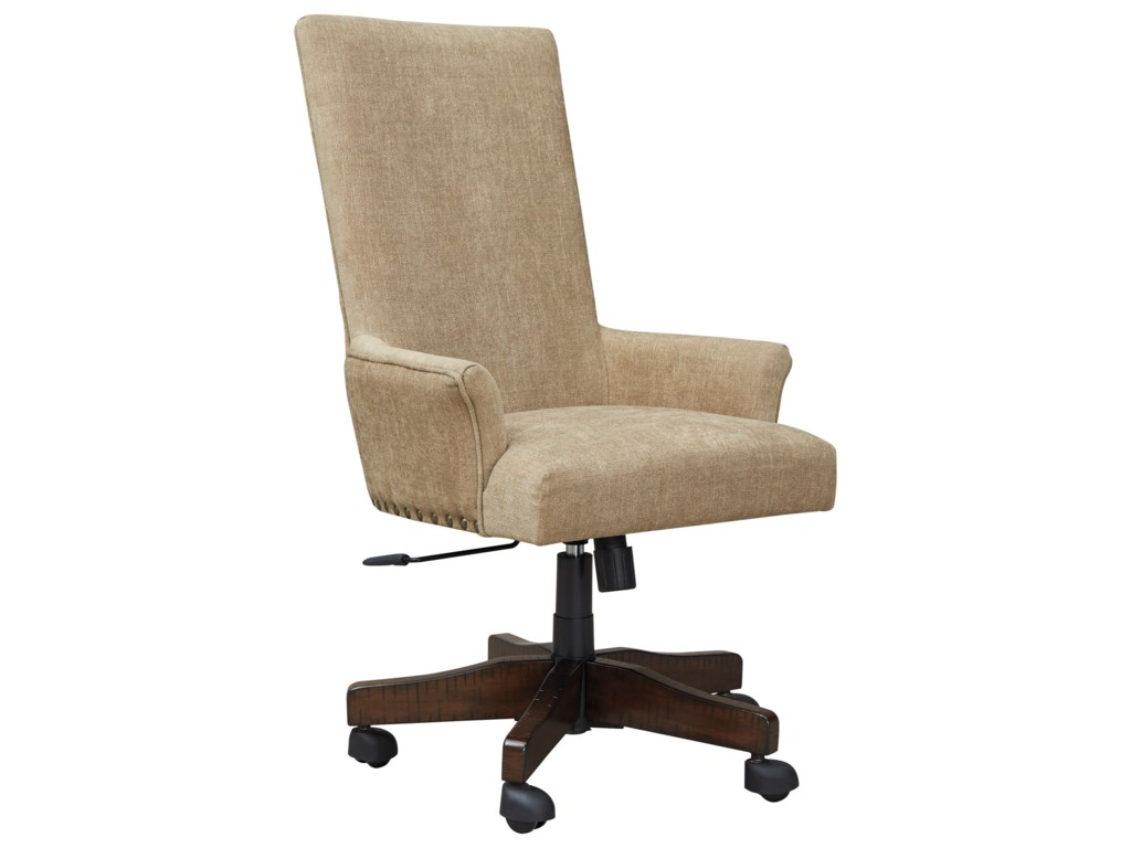Signature Design by Ashley BaldridgeUpholstered Swivel Desk Chair