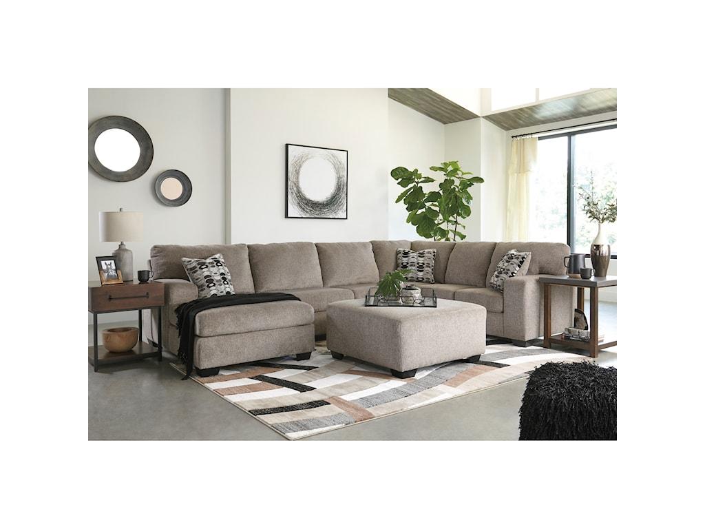 Signature Design by Ashley BallinasloeStationary Living Room Group