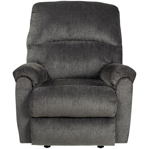 Signature Design by Ashley Ballinasloe Casual Contemporary Rocker Recliner