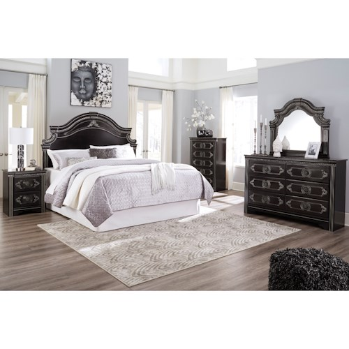 Signature Design by Ashley Banalski Queen Bedroom Group