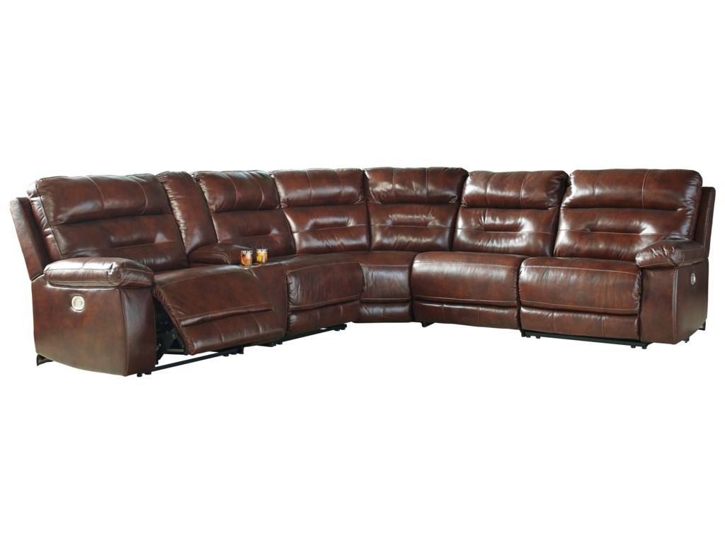 oh furniture store ashley best dealer recliner manzanola product sectional reclining mentor