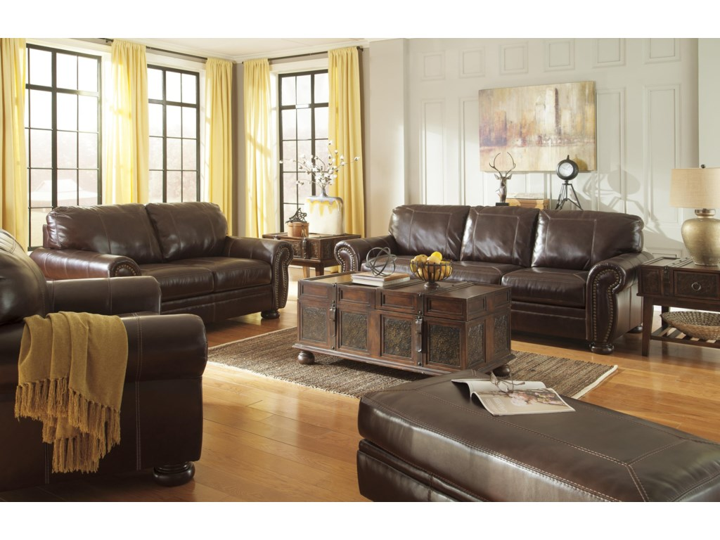 Signature Design by Ashley BannerSofa and Chair Set