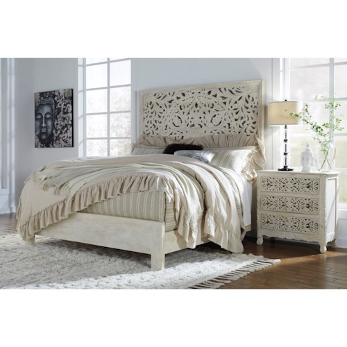 Signature Design by Ashley Bantori California King Bedroom Group