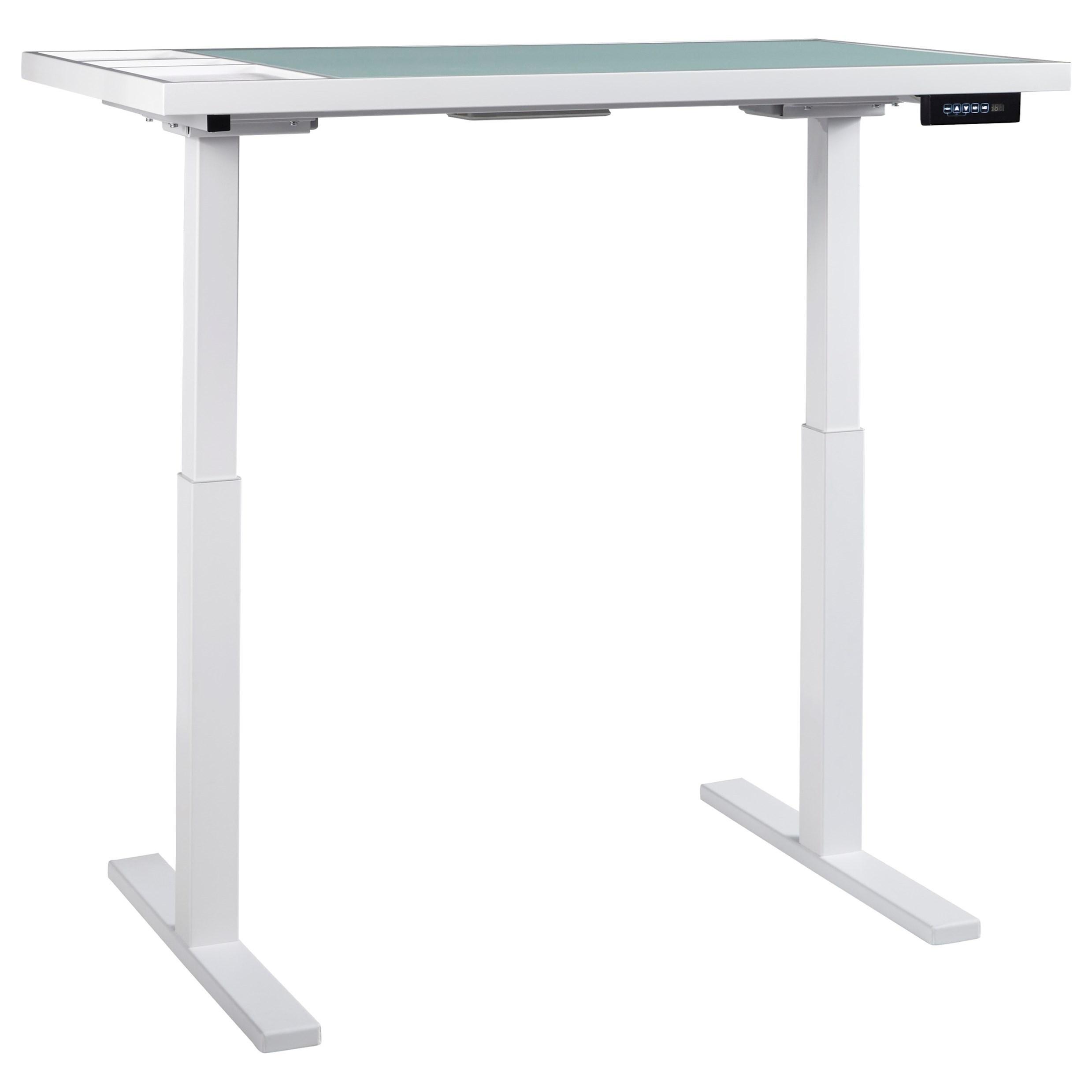 Signature Design BaragaAdjustable Height Desk ...