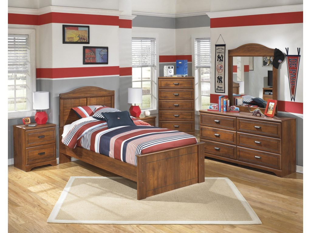 Signature Design by Ashley BarchanTwin Panel Bed