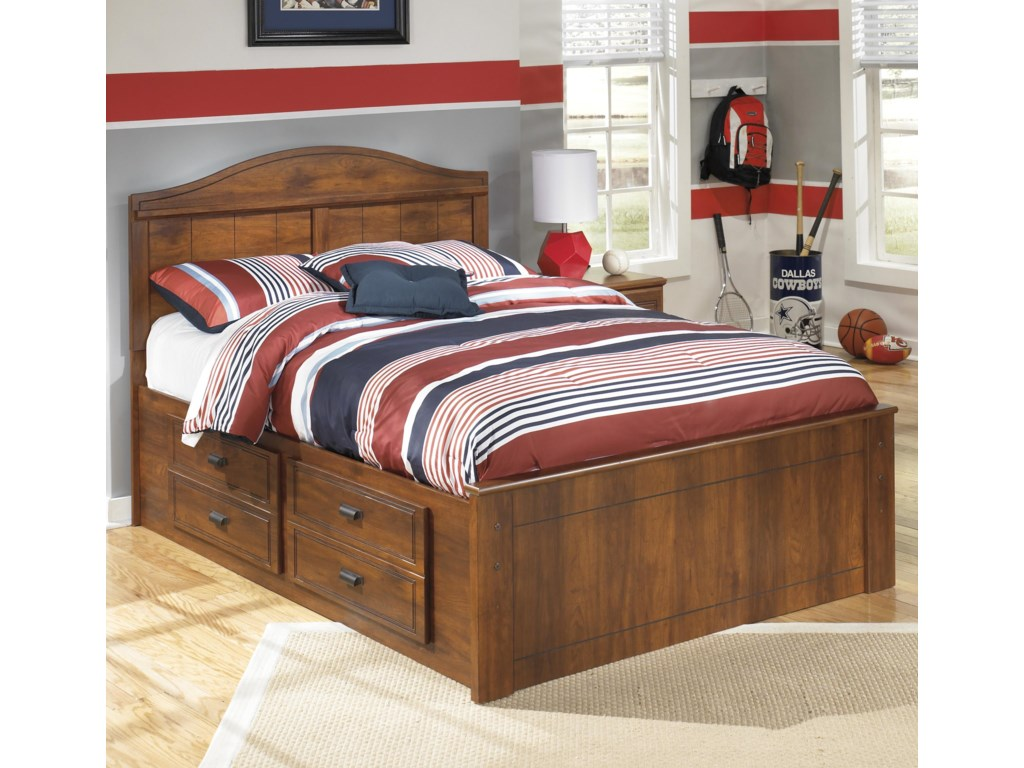 Ashley Signature Design BarchanFull Panel Bed with Underbed Storage