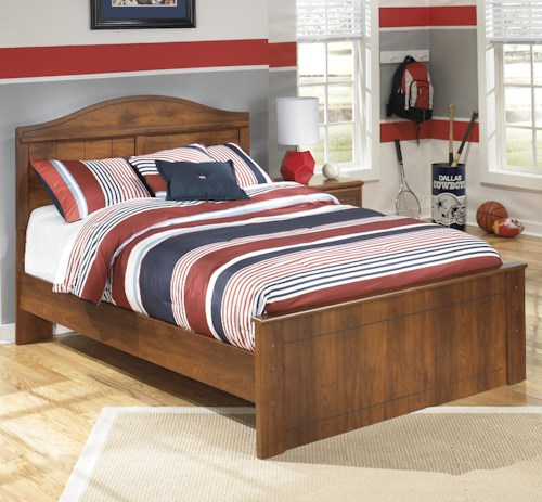 Signature Design by Ashley Barchan Full Panel Bed with Arched Headboard