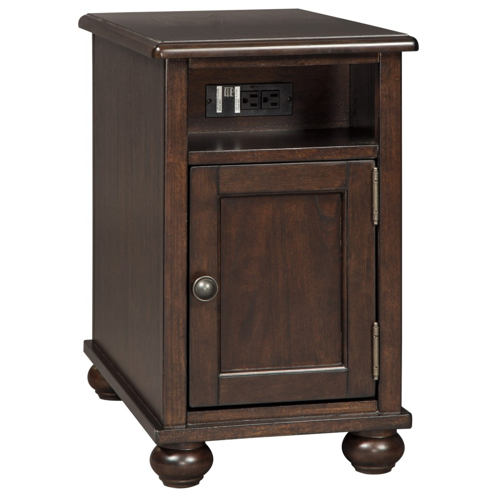 Signature Design By Ashley Barilanni T934 7 Chair Side End Table