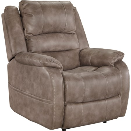 Power Recliner w/ Adjustable Headrest