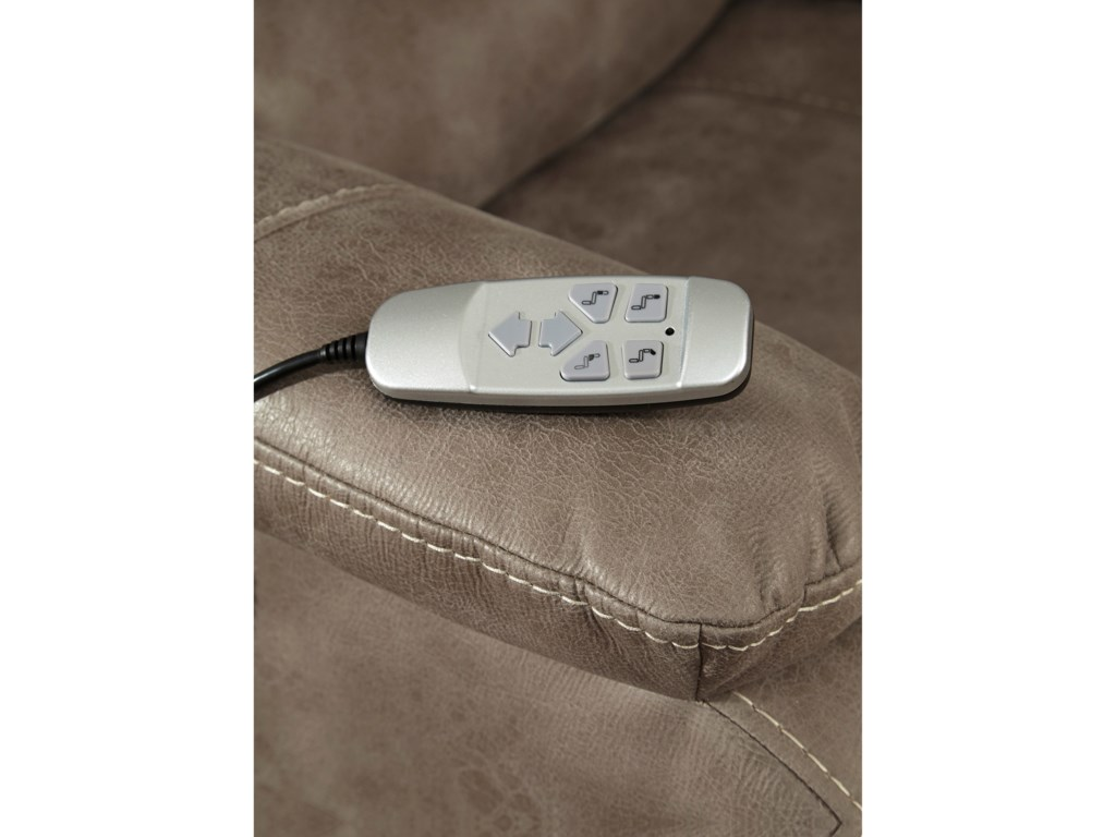 Signature Design by Ashley BarlingPower Recliner w/ Adjustable Headrest