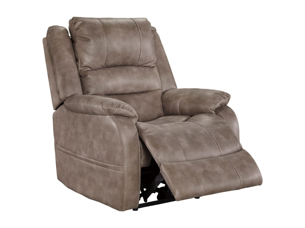 Ashley (Signature Design) BarlingPower Recliner w/ Adjustable Headrest