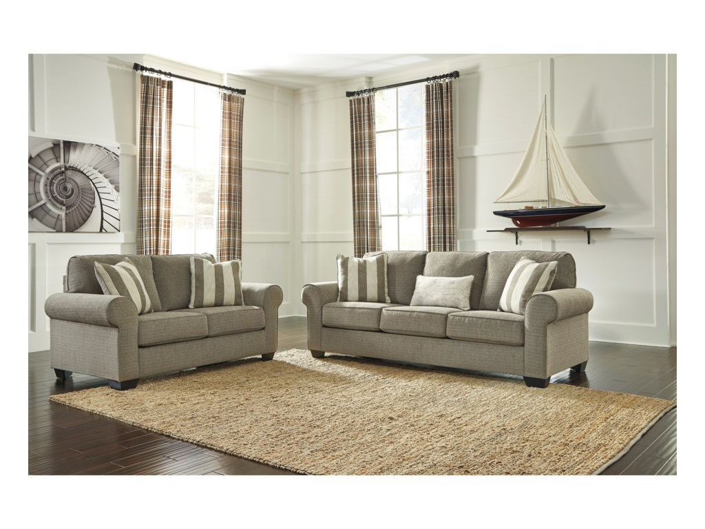 Signature Design by Ashley BaveriaStationary Living Room Group