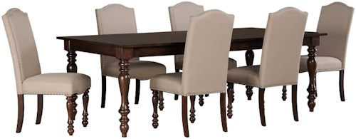 Signature Design by Ashley Baxenburg 7-Piece Dining Room Extension ...