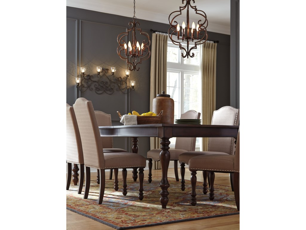 Signature Design by Ashley BaxenburgRectangular Dining Room Extension Table