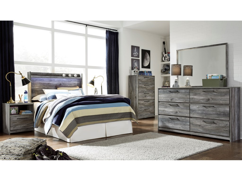 Ashley (Signature Design) BaystormFull Bedroom Group