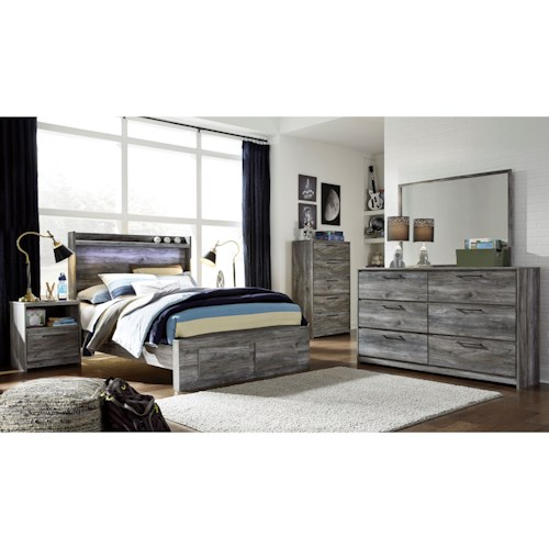 Signature Design by Ashley Baystorm Full Bedroom Group