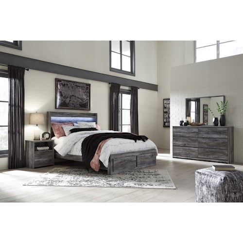 Signature Design by Ashley Baystorm Queen Bedroom Group