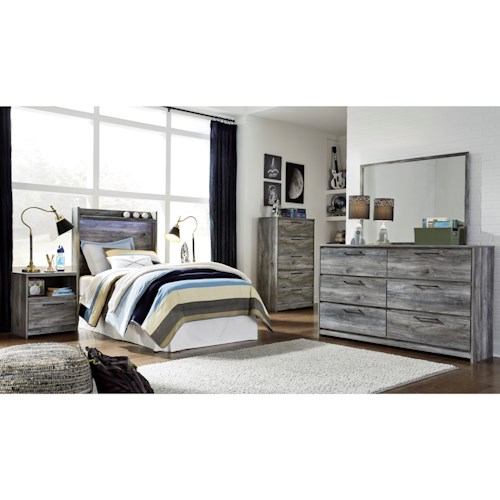 Signature Design by Ashley Baystorm Twin Bedroom Group
