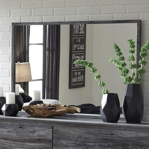 Signature Design by Ashley Baystorm Contemporary Dresser Mirror