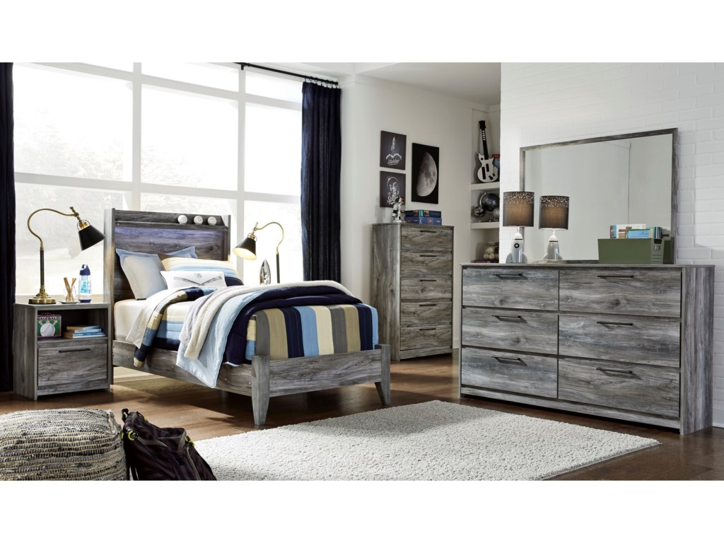 Ashley (Signature Design) BaystormTwin Panel Bed