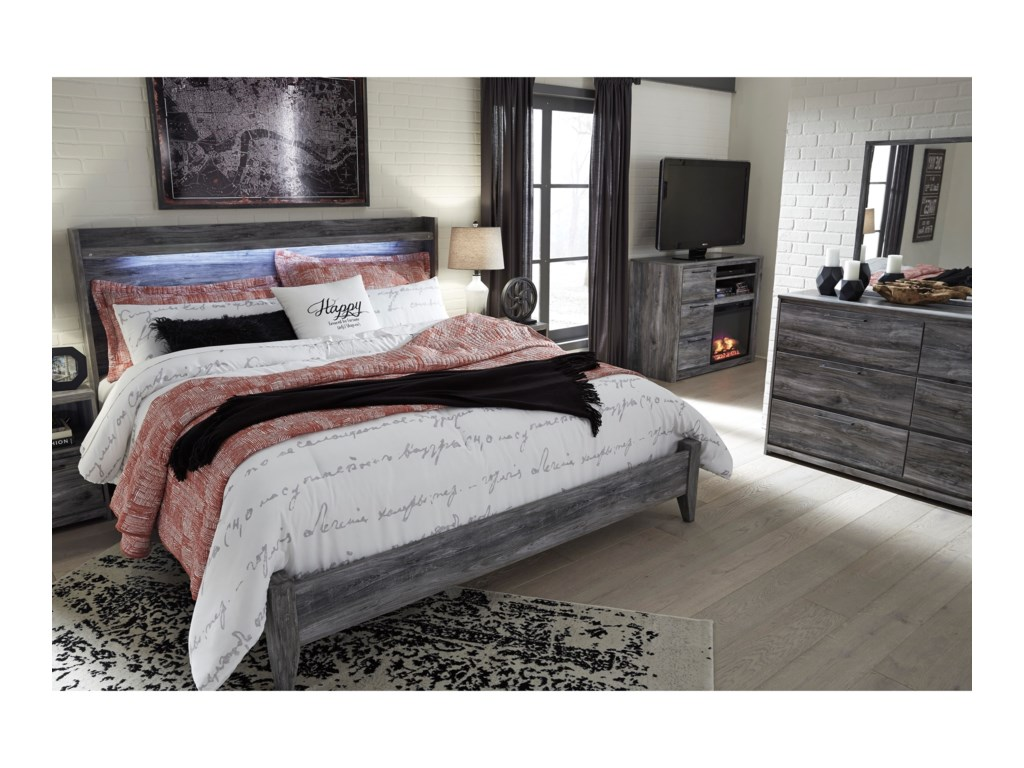 Signature Design by Ashley BaystormKing Panel Bed