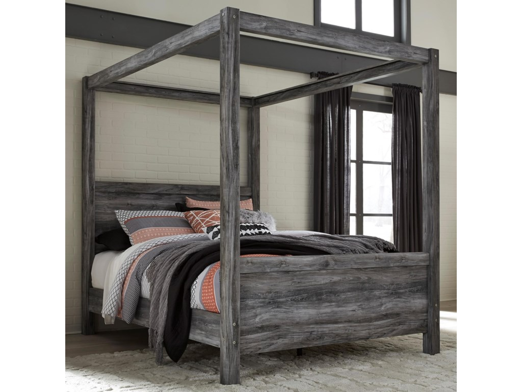 Signature Design by Ashley BaystormQueen Canopy Bed