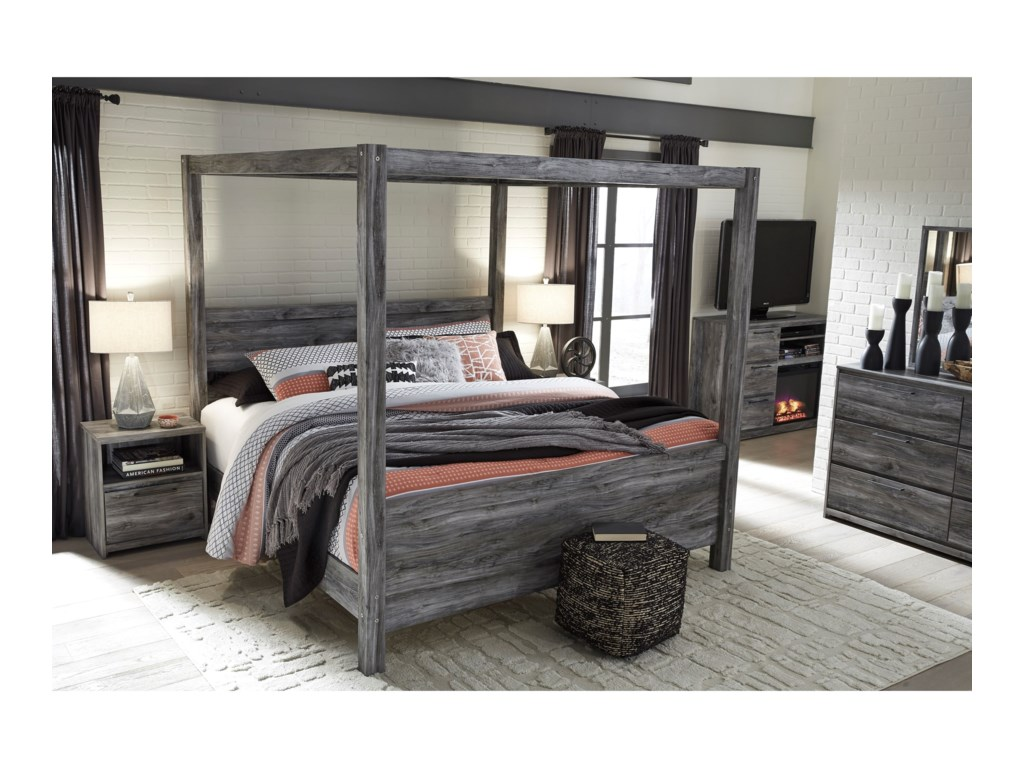 Signature Design by Ashley BaystormKing Canopy Bed