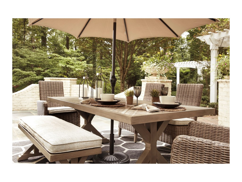 Signature Beachcroft6 Piece Outdoor Dining Set