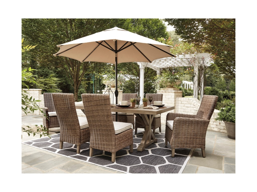 Vendor 3 Oaklynn7 Piece Outdoor Dining Set