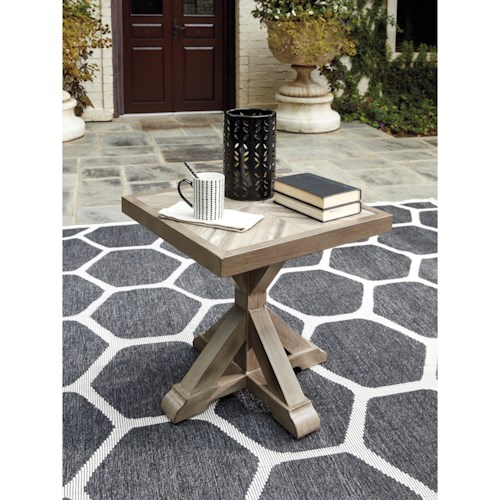 Signature Design by Ashley Beachcroft Square End Table