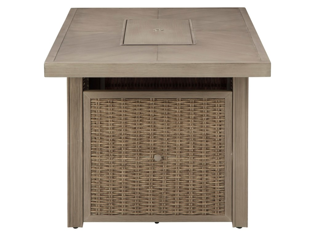 Signature Design by Ashley BeachcroftRectangular Fire Pit Table