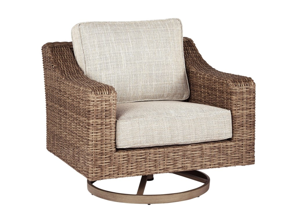 Signature Design by Ashley BeachcroftSwivel Lounge Chair