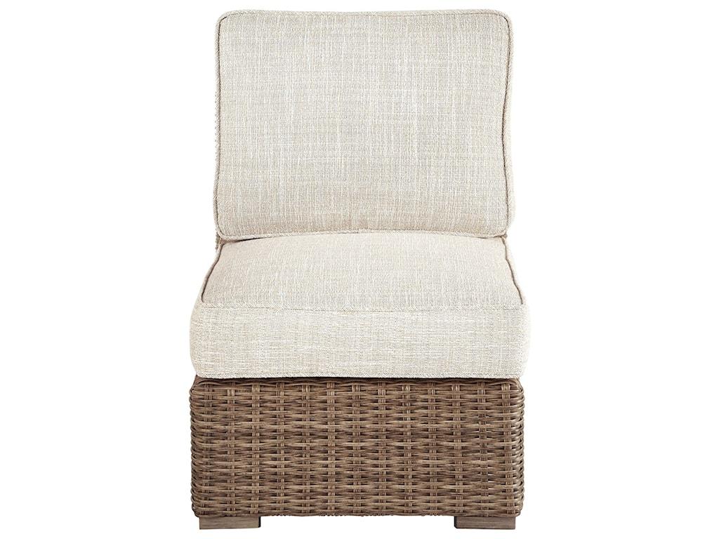 Signature Design by Ashley BeachcroftArmless Chair with Cushion