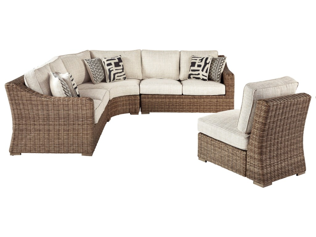 Signature Design by Ashley Beachcroft4 Piece Sectional