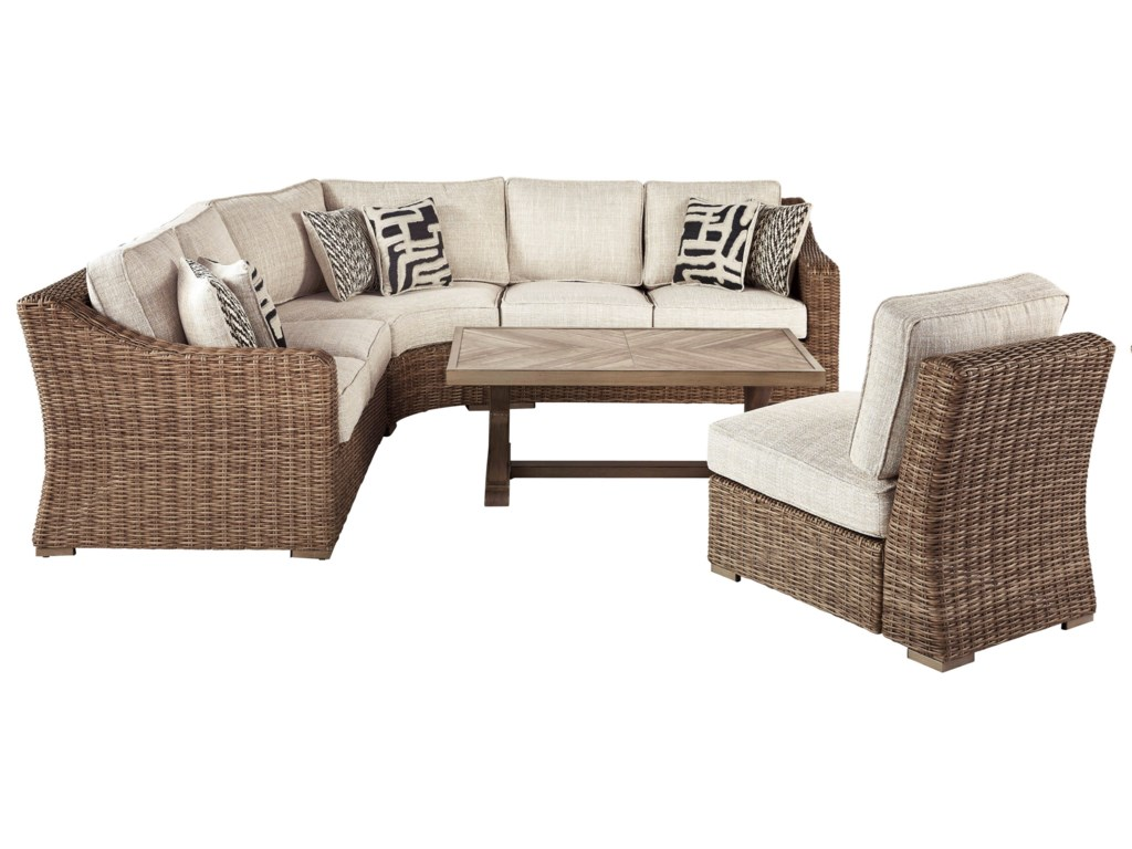 Signature Design by Ashley BeachcroftOutdoor Conversation Set