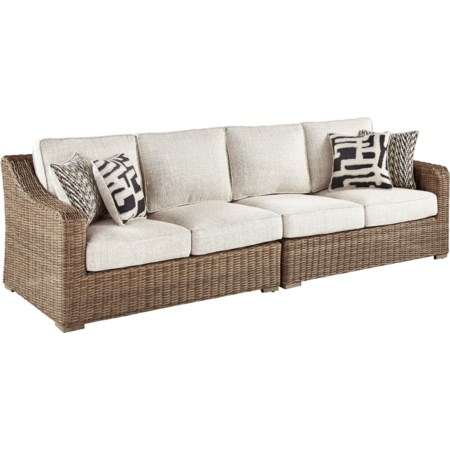 RAF/LAF Loveseat with Cushion