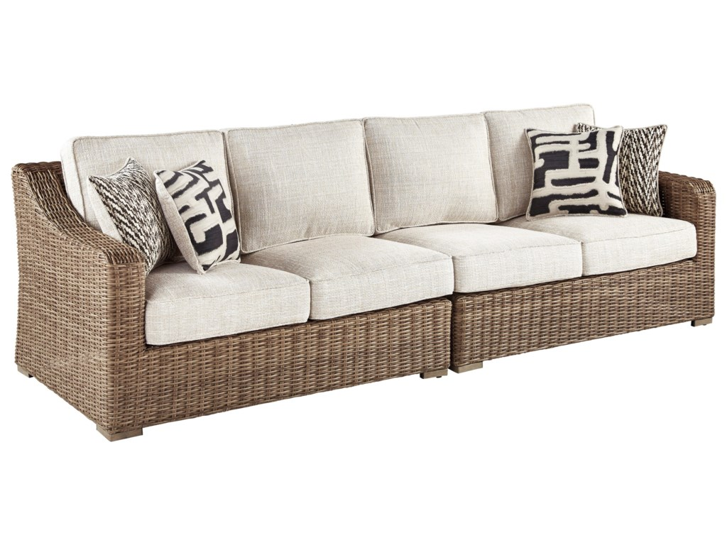 Vendor 3 OaklynnRAF/LAF Loveseat with Cushion