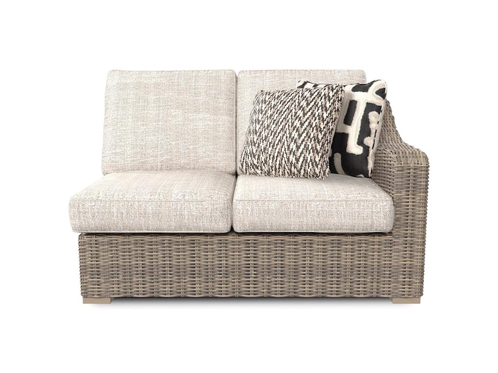 Signature Design by Ashley BeachcroftRAF/LAF Loveseat with Cushion