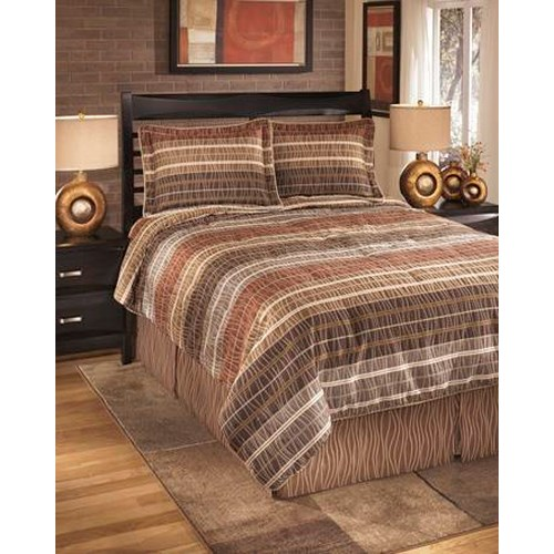 Signature Design by Ashley Bedding Sets Queen Wavelength Jewel Top of Bed Set