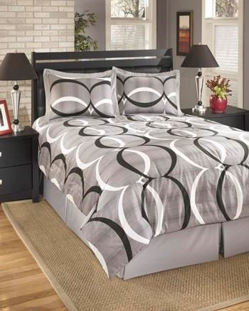 Signature Design by Ashley Bedding SetsQueen Primo Alloy Top of Bed Set
