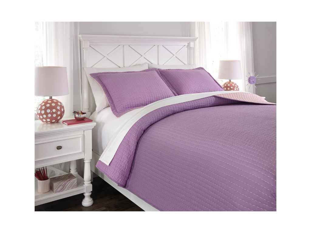 Benchcraft Bedding SetsFull Dansby Coverlet Set