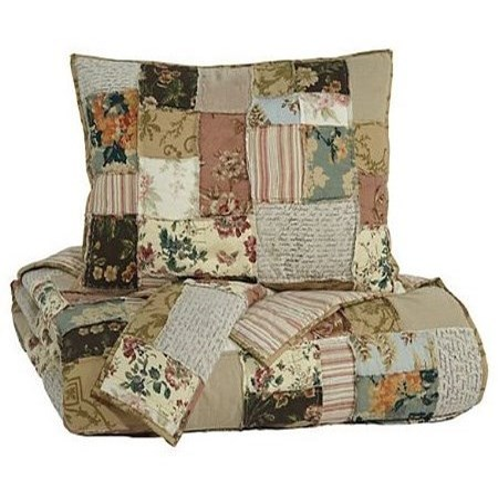 Ashley (Signature Design) Bedding SetsQueen Damalis 3-Piece Quilt Set