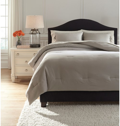 Signature Design By Ashley Bedding Sets Q243023q Queen Aracely Taupe