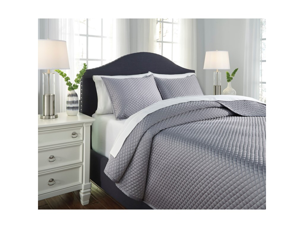 Ashley (Signature Design) Bedding SetsQueen Dietrick Quilt Set