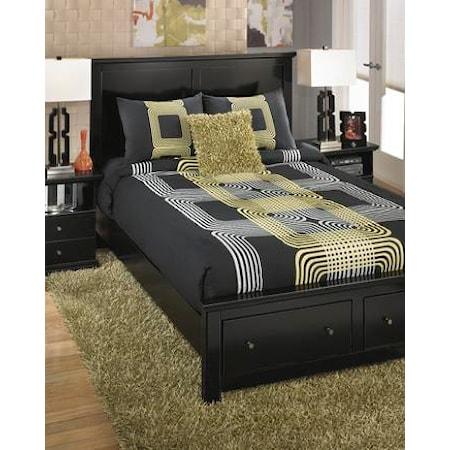 King Onani Lime Top of Bed Set