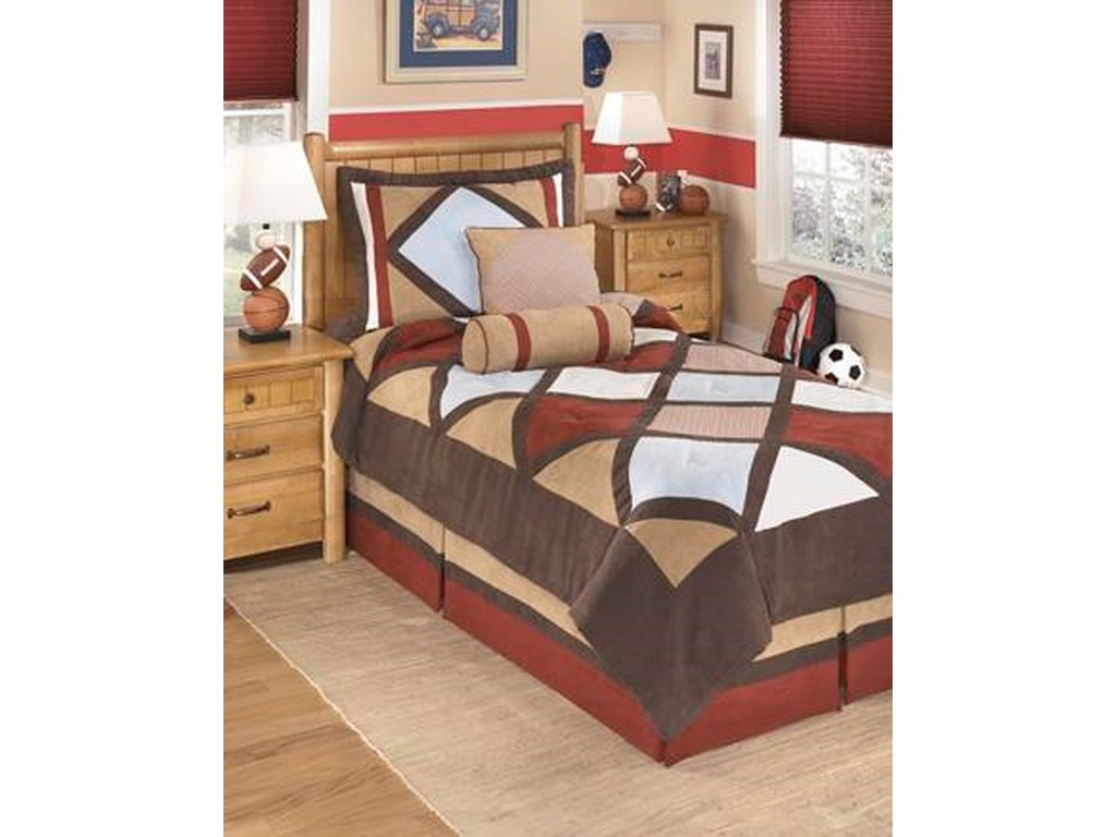 Signature Design by Ashley Bedding SetsTwin Academy Multi Top of Bed Set
