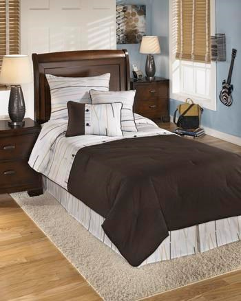 Signature Design by Ashley Bedding SetsTwin Stickly Multi Top of Bed Set